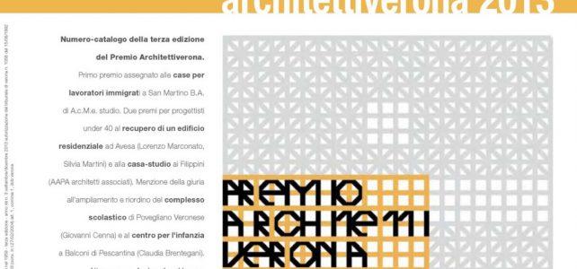 PREMIO ARCHITETTI VERONA 2013